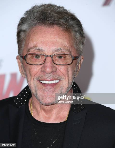 Frankie Valli arrives at the Premiere Of Disney And Marvel's 'AntMan And The Wasp' on June 25 2018 in Hollywood California