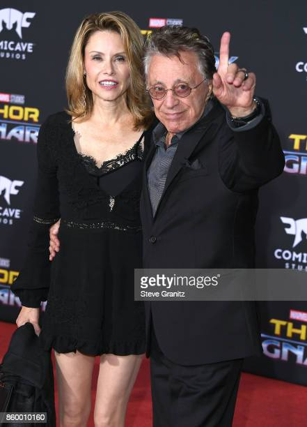 Frankie Valli arrives at the Premiere Of Disney And Marvel's 'Thor Ragnarok' on October 10 2017 in Los Angeles California