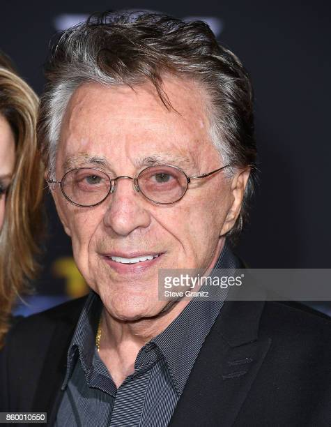 Frankie Valli arrives at the Premiere Of Disney And Marvel's Thor Ragnarok on October 10 2017 in Los Angeles California