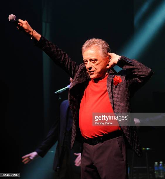 Frankie Valli attends Frankie Valli And The Four Seasons 50th Anniversary Celebration at Broadway Theatre on October 19 2012 in New York City