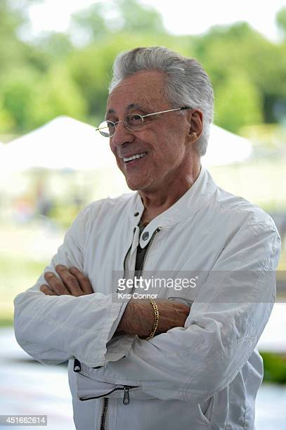 Frankie Valli attends PBS's 2014 A Capitol Fourth concert rehearsal at the US Capitol West Lawn on July 3 2014 in Washington DC