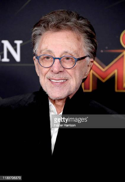 """Frankie Valli attends the Marvel Studios """"Captain Marvel"""" premiere on March 04, 2019 in Hollywood, California."""