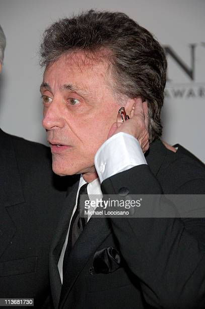Frankie Valli during 60th Annual Tony Awards Arrivals at Radio City Music Hall in New York City New York United States