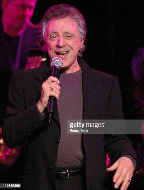 Frankie Valli during Frankie Valli and The Four Seasons in Concert at the Community Theatre in Morristown - March 8, 2007 at Community Theatre in...
