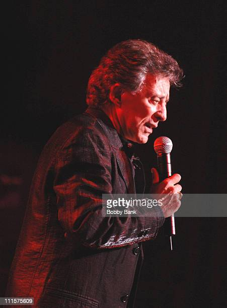 Frankie Valli during Frankie Valli in Concert at the New Jersey State Theatre August 18 2006 at State Theatre in New Brunswick New Jersey United...