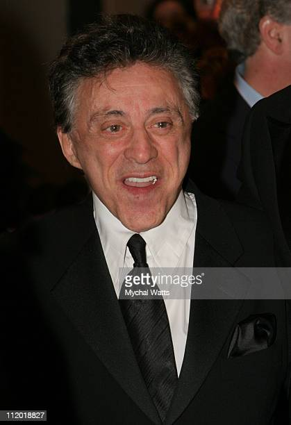 Frankie Valli during Jersey Boys Broadway Opening Night Celebration at August Wilson Theater in New York City New York United States