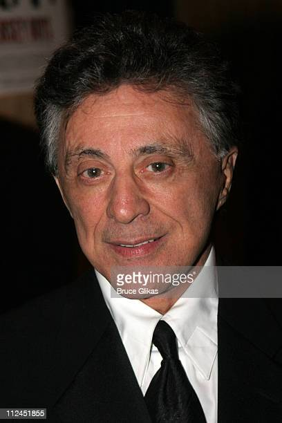 Frankie Valli during Opening Night After Party for Jersey Boys on Broadway at The August Wilson Theater and The Marriott Marquis Ballroom in New York...