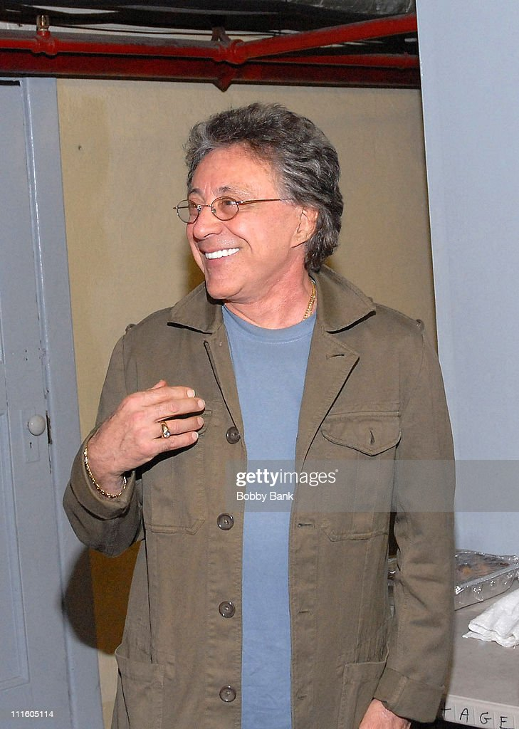 Frankie Valli in Concert - Backstage - May 11, 2007