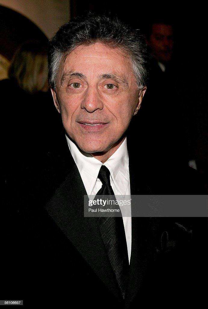Frankie Valli of Frankie Valli and the Four Seasons attends the play opening night of 'Jersey Boys' after party at the Marriott Marquis November 6, 2005 in New York City.