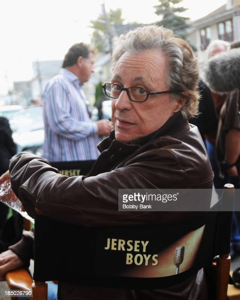 Frankie Valli on the set of 'Jersey Boys' on October 16 2013 in Kearny New Jersey