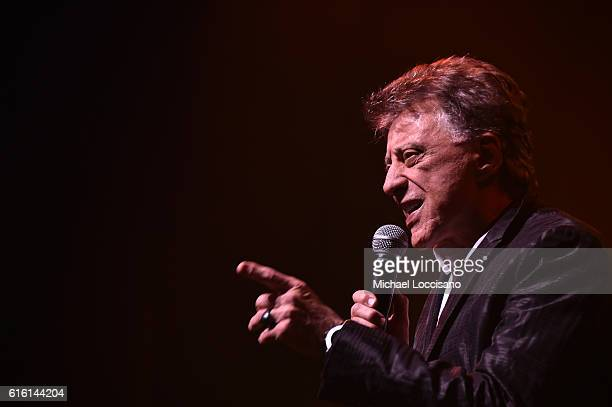 Frankie Valli performs at Frankie Valli And The Four Seasons Broadway Opening Night at LuntFontanne Theatre on October 21 2016 in New York City