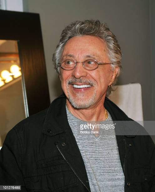 Frankie Valli performs at the Paramount Theatre on May 29 2010 in Asbury Park New Jersey