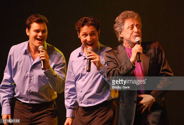 Frankie Valli The Four Seasons during Frankie Valli and The Four Seasons Headline at Count Basie Theatre May 9 2007 at Count Basie Theatre in Red...
