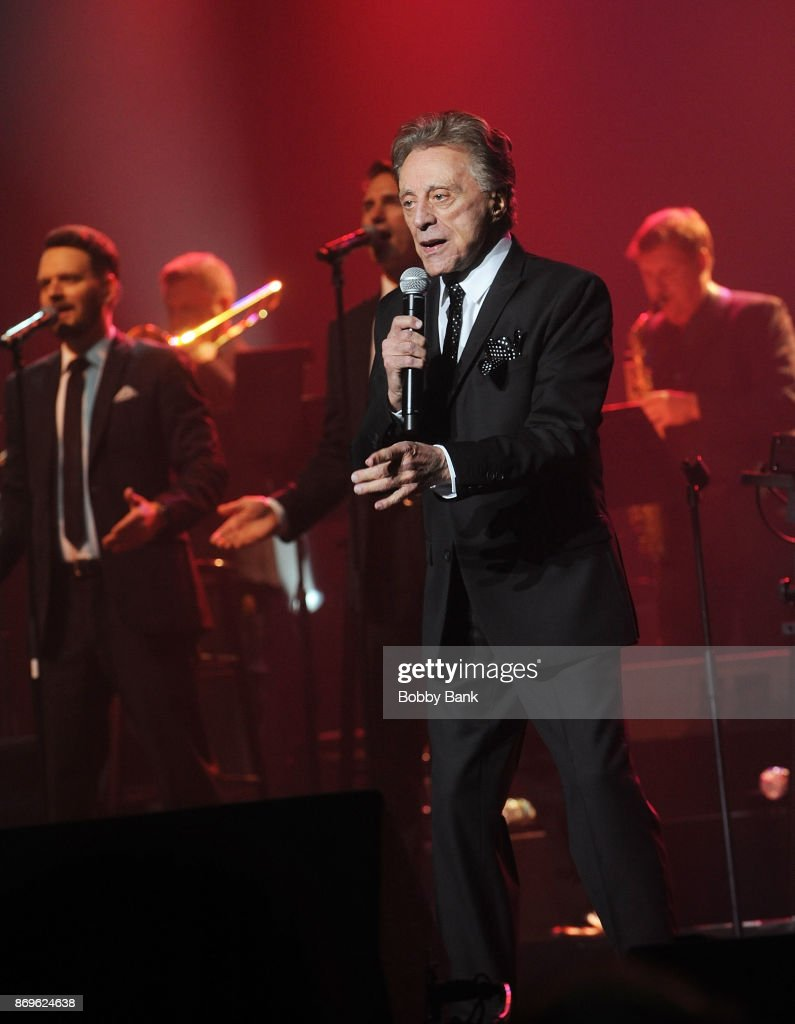 Frankie Valli & The Four Seasons In Concert - Red Bank, NJ : News Photo