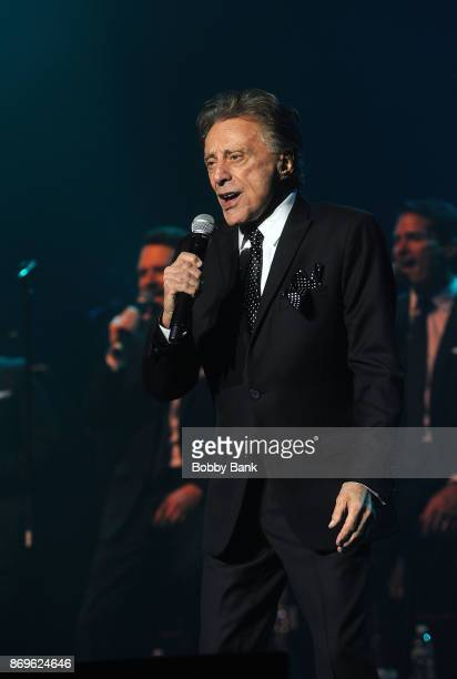 Frankie Valli The Four Seasons perform at Count Basie Theater on November 2 2017 in Red Bank New Jersey