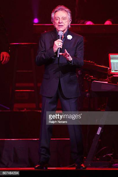 Frankie Valli The Four Seasons Perform at Hard Rock Live at the Seminole Hard Rock Hotel Casino on January 29 2016 in Hollywood Florida