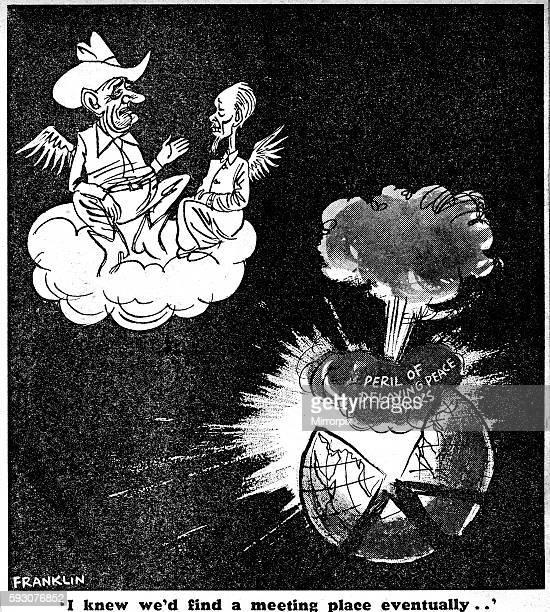Franklin cartoon 16th April 1968