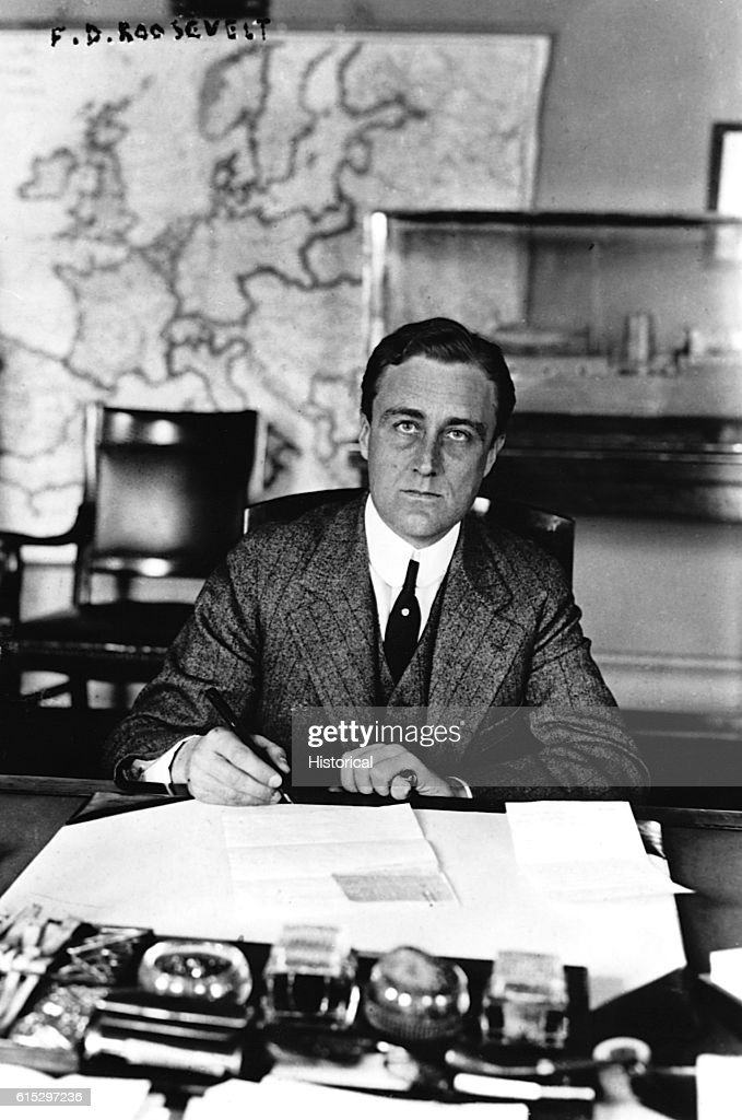 Franklin D  Roosevelt as Assistant Secretary of the Navy, a