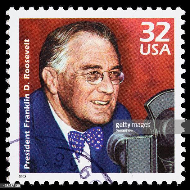 USA Franklin D. Roosevelt (FDR) postage stamp