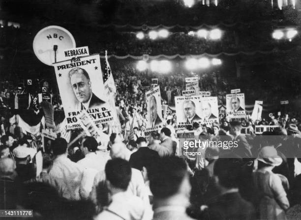 Franklin D Roosevelt's victory at the Democratic Congress in Chicago He was elected as presidential candidate for the presidential election in...