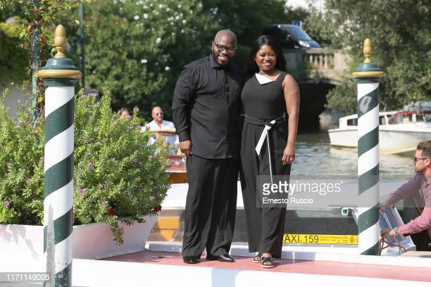 Franklin Eugene and Taylor Re Lynn are seen arriving at the 76th Venice Film Festival on August 30, 2019 in Venice, Italy.