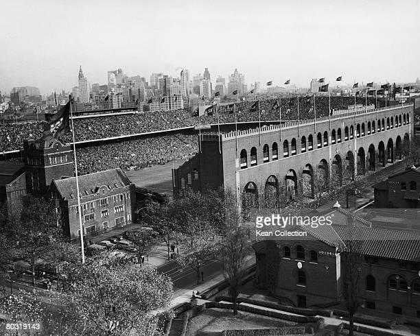 Franklin Field the sports stadium of the University of Pennsylvania in Philadelphia circa 1950