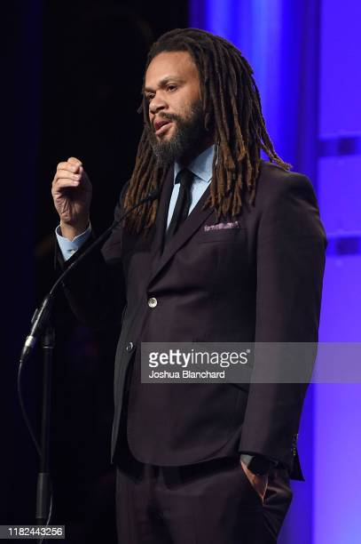 Franklin Leonard attends the 40th Annual Media Access Awards In Partnership With Easterseals at The Beverly Hilton Hotel on November 14 2019 in...