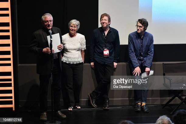 Franklin Miller Judy Miller Peter Conheim and Dan Sullivan introduce the Spring Night Summer Night screening during the 56th New York Film Festival...