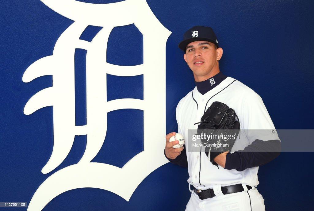 Detroit Tigers Photo Day : News Photo