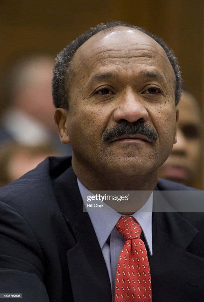 Franklin Raines, former CEO of Fannie Mae listens to opening statements from members of the House Oversight and Government Reform Committee during a hearing focused on the role of Fannie Mae and Freddie Mac in the ongoing financial crisis on Tuesday, Dec. 9, 2008.