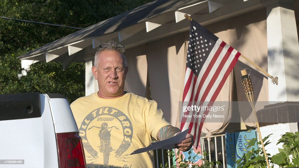 Father of Dylann Storm Roof : News Photo