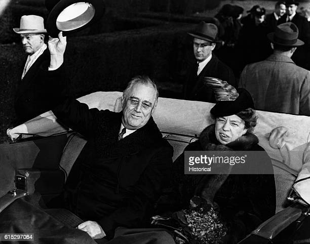 Franklin Roosevelt, the 32nd President of the United States from 1933 to 1945, entered the presidency during the Great Depression and presided over...