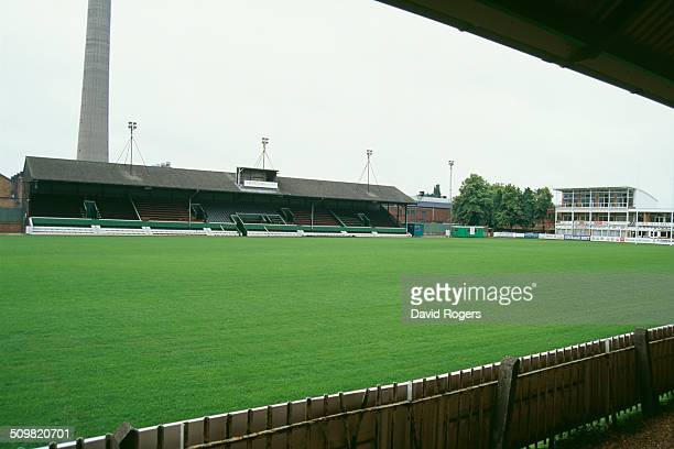 Franklin's Gardens, home of the Northampton Saints rugby union club, Northampton, England, 3rd September 1994.