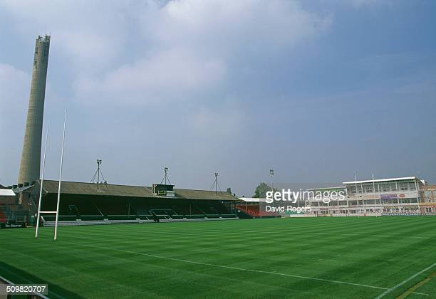 Franklin's Gardens, home of the Northampton Saints rugby union club, Northampton, England, 23rd July 1996.