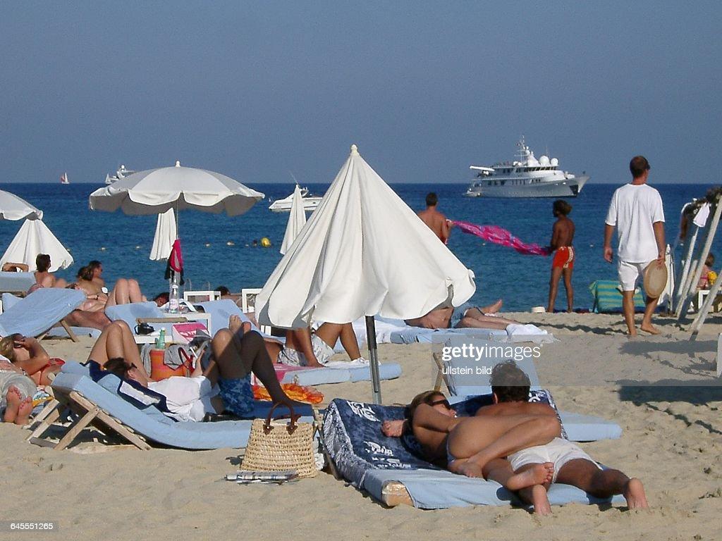Frankreich An Der Cote D Azur Saint Tropez Der Beruhmte