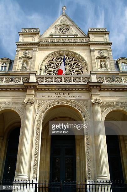 Frankreich Ile de France Paris Das Rathaus des 1 Arrondissements in Paris