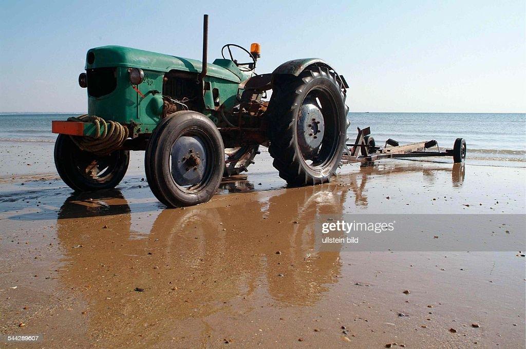 Frankreich Normandie Audresselles Historischer Traktor Deutz D 40 News Photo Getty Images