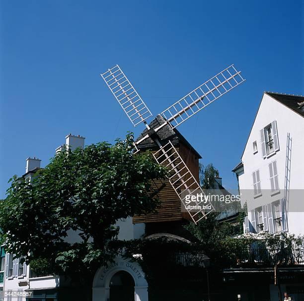 Frankreich Paris Montmartre Moulin de la Galette 2005
