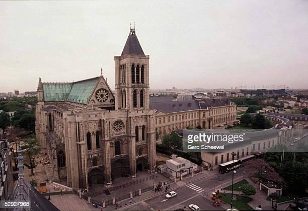 Frankreich/FRA/FRANCE 07.05.98, Die Basilika von ST. DENIS WM 1998 - Stadtfeature -
