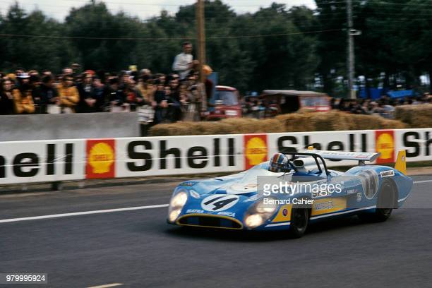 François Cevert MatraSimca MS670 24 Hours of Le Mans Le Mans 12 June 1972 François Cevert finished second at the wheel of the MatraSimca MS670 in the...