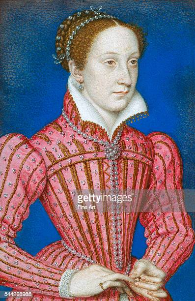 François Clouet Mary Queen of Scots 155860 watercolor on vellum Royal Collection London