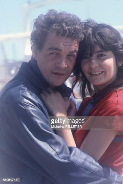 François Léotard et Ariel Besse lors du Festival de Cannes en mai 1982 France