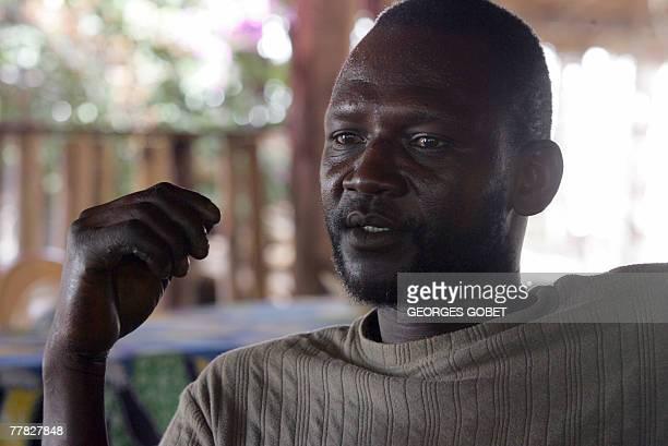 Franois TILLINAC 'En Casamance dans un village de departs de clandestins vers les Canaries' Henri a fisherman waiting for another attempt to...