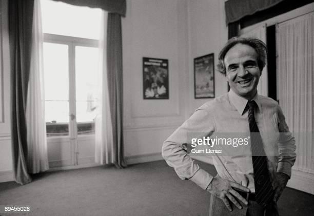 François Truffaut Film Director Stock-Fotos und Bilder  