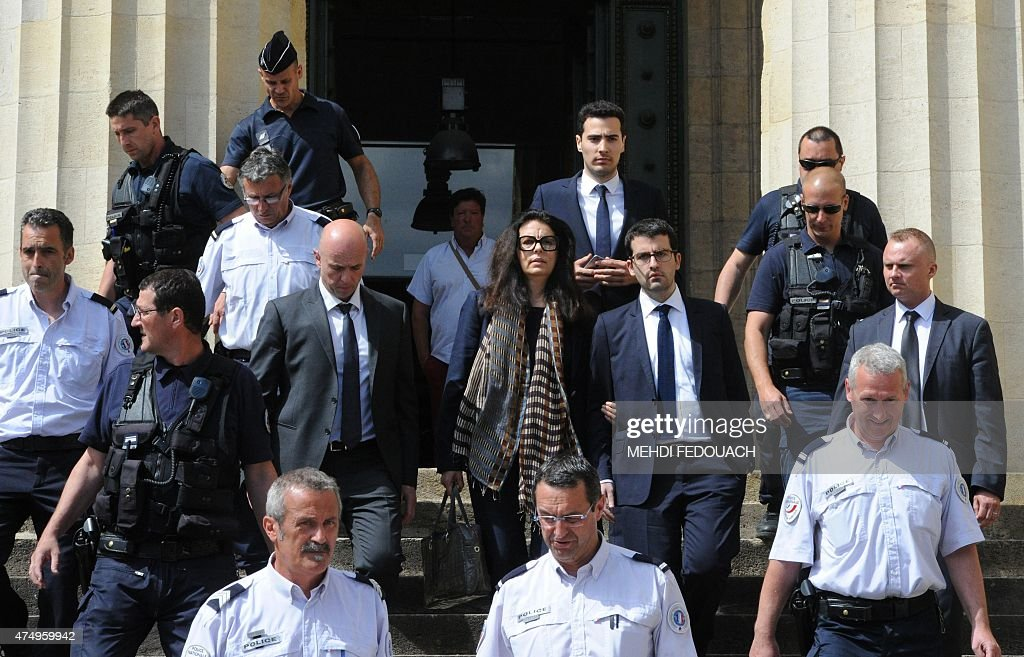 FRANCE-JUSTICE-TRIAL-LOREAL-BETTENCOURT : News Photo