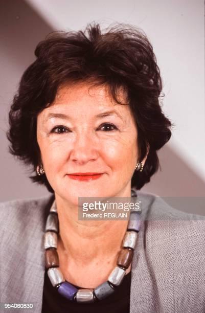 Françoise Cachin directrice des musées de France le 11 mai 1995 à Paris France