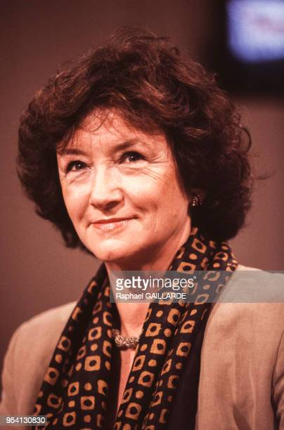 Françoise Cachin directrice du musée d'Orsay le 4 septembre 1993 à Paris France