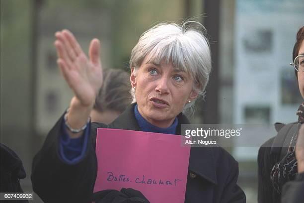 Françoise de Panafieu pays a visit