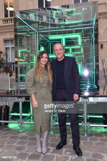 FranoisHenri Pinault attends Fashion Tech Lab launch event hosted by Miroslava Duma and Stella McCartney as part of Paris Fashion Week Womenswear...