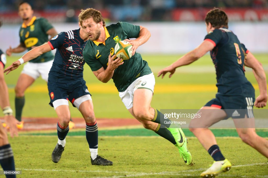 Castle Lager Incoming Series, 1st Test: South Africa v France : News Photo